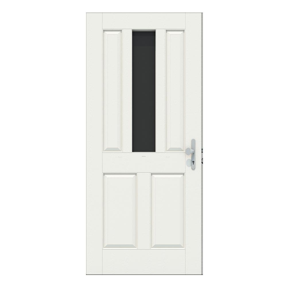 Voordeur met raam in het midden