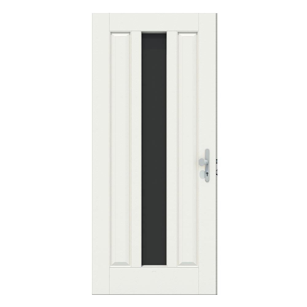 Voordeur met raam midden verticaal