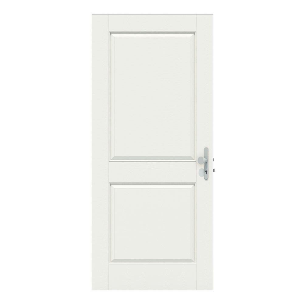 Voordeur 2 vakken dicht geen glas
