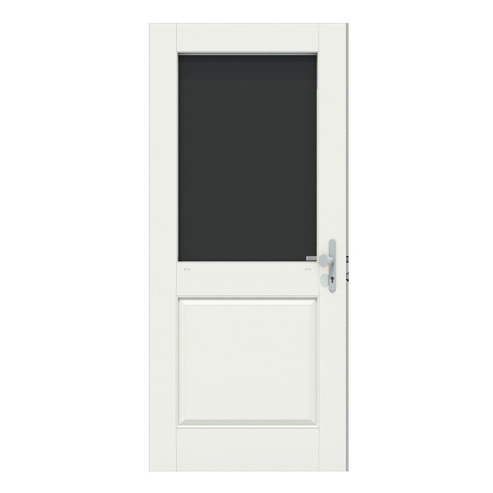 Voordeur met een groot raam