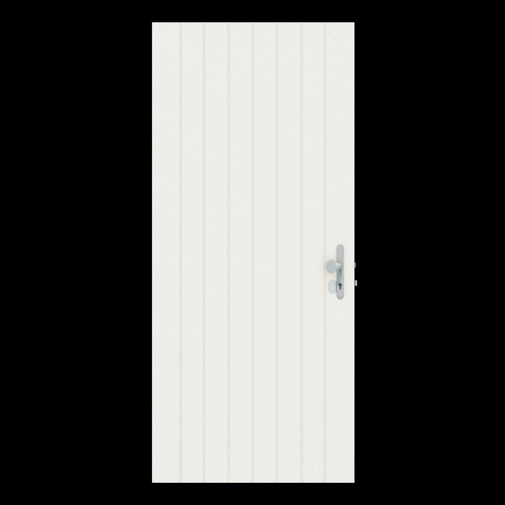 Voordeur zonder raam